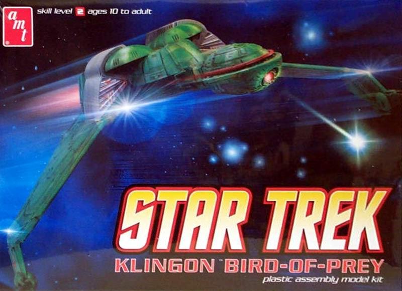 AMT Model kit AMT664 Klingon Bird of Prey 2011.jpg