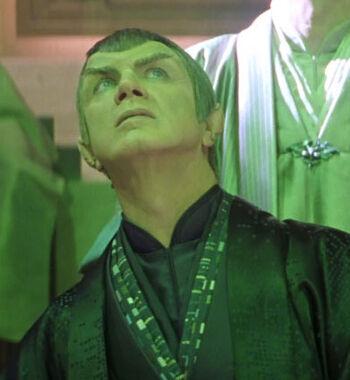...as a Romulan senator