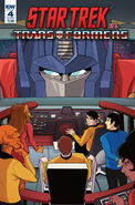 Star Trek vs. Transformers issue 4 cover B