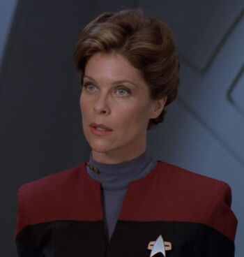 A member of Species 8472 impersonating Valerie Archer