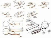 Early USS Enterprise design concepts by Matt Jefferies.jpg