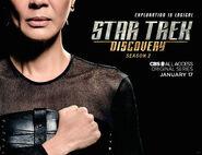 Star Trek Discovery Season 2 Philippa Georgiou banner