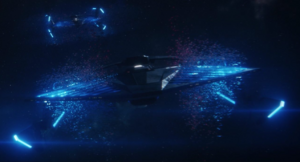 Section 31 ship with 2 nacelles