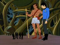 Spock 2, Keniclius 5, and Enterprise crew.jpg