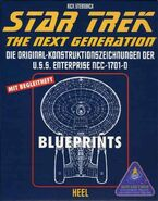 Star Trek The Next Generation USS Enterprise NCC-1701-D Blueprints - German edition