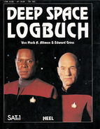 Deep Space log Book German cover