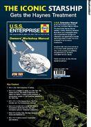 USS Enterprise Owners Workshop Manual advertisement (Haynes July-December 2010 catalogue)