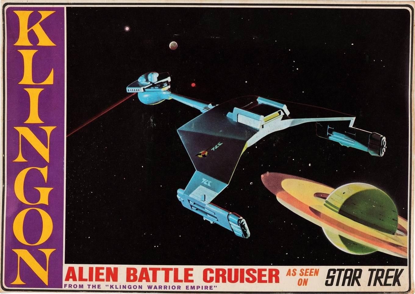 AMT-Aurora Model kit 923 Klingon Battle Cruiser 1968.jpg