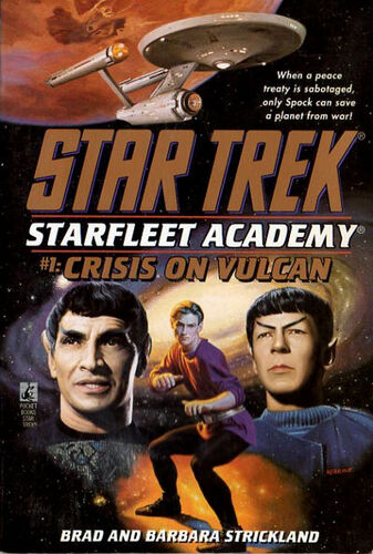 Cover of book 1, Crisis on Vulcan