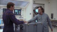Phlox jako Główny Oficer Medyczny na Enterprise, NX-01