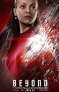 Star Trek Beyond Uhura Poster revised