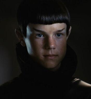 ...as a Vulcan bully