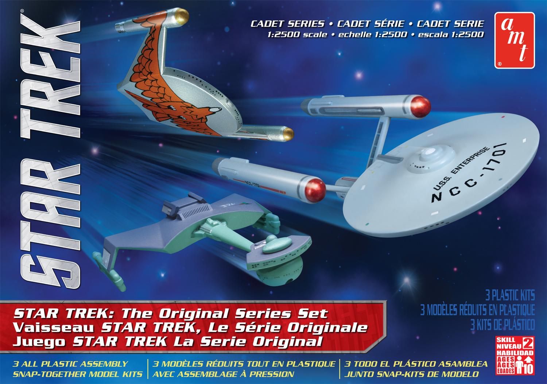 AMT Model kit AMT763 3-piece Original Series Set 2013.jpg