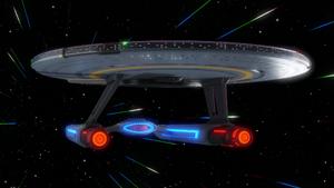 USS Cerritos in space