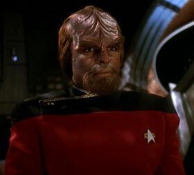 Worf at his hearing.jpg