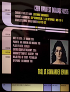 Deanna Troi personnel file, remastered