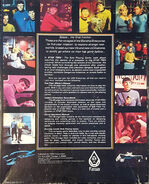 FASA Star Trek Role Playing Game v2 deluxe back cover