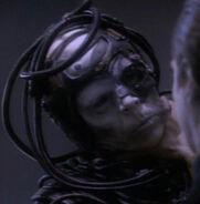 Killed Borg on Ohniaka III