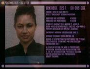 Lois R. Eckridge personnel file