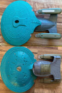 Playmates USS Enterprise-D prototype