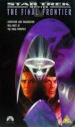 Final Frontier 1998 UK VHS cover