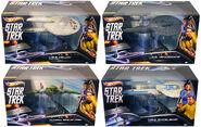 Hot Wheels Star Trek Series 4 packaged ships