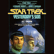 Yesterdays Son audiobook cover, download