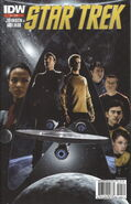 Star Trek Ongoing, issue 1 2nd printing