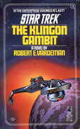 The Klingon Gambit cover, reprint