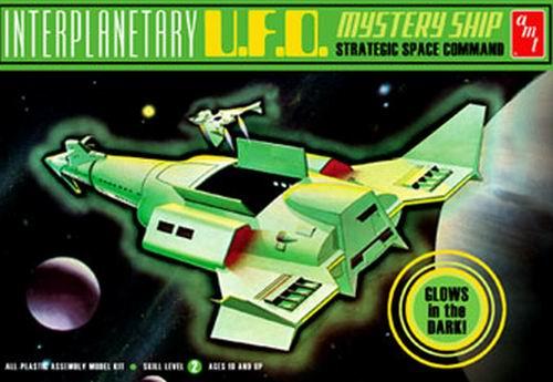 AMT Model kit AMT622 Interpanetary UFO Mystery Ship 2009.jpg
