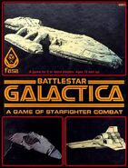 FASA Battlestar Galactica The Role Playing Game 1979 box cover
