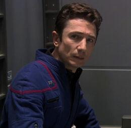 Лейтенант Малкольм Рид, 2154 год