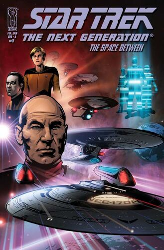 The Space Between issue #1 cover