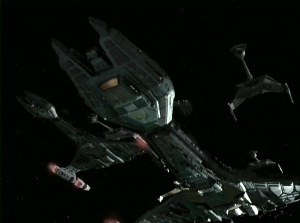 Unnamed K't'inga class starships