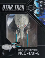Star Trek Official Starships Collection USS Enterprise-E repack 8