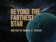 1x01 Beyond the Farthest Star title card