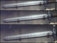 Klingoński długi miecz