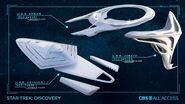 DIS Season 3 Federation ships concept art 2