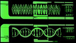 DNA strands, lcars, tngs1