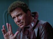 Kirk Vulcan salute