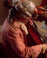 String quartet musician 3