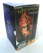 Worf Return to Grace VHS Australia contents