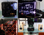 CherryTree Star Trek Picard Borg Cube Record Player