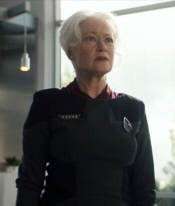 ...as Admiral Kirsten Clancy