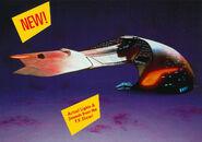 Playmates Ferengi Marauder electronic starship prototype
