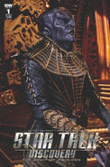 Star Trek Discovery - The Light of Kahless, issue 1 cover B