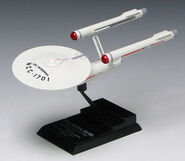 F-Toys USS Enterprise model