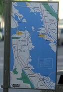 San Francisco municipal railway system map
