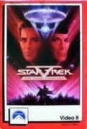 Star Trek V Video 8 cover