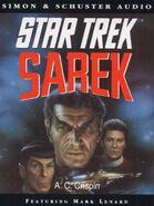 Sarek abridged audiobook cover, UK cassette edition